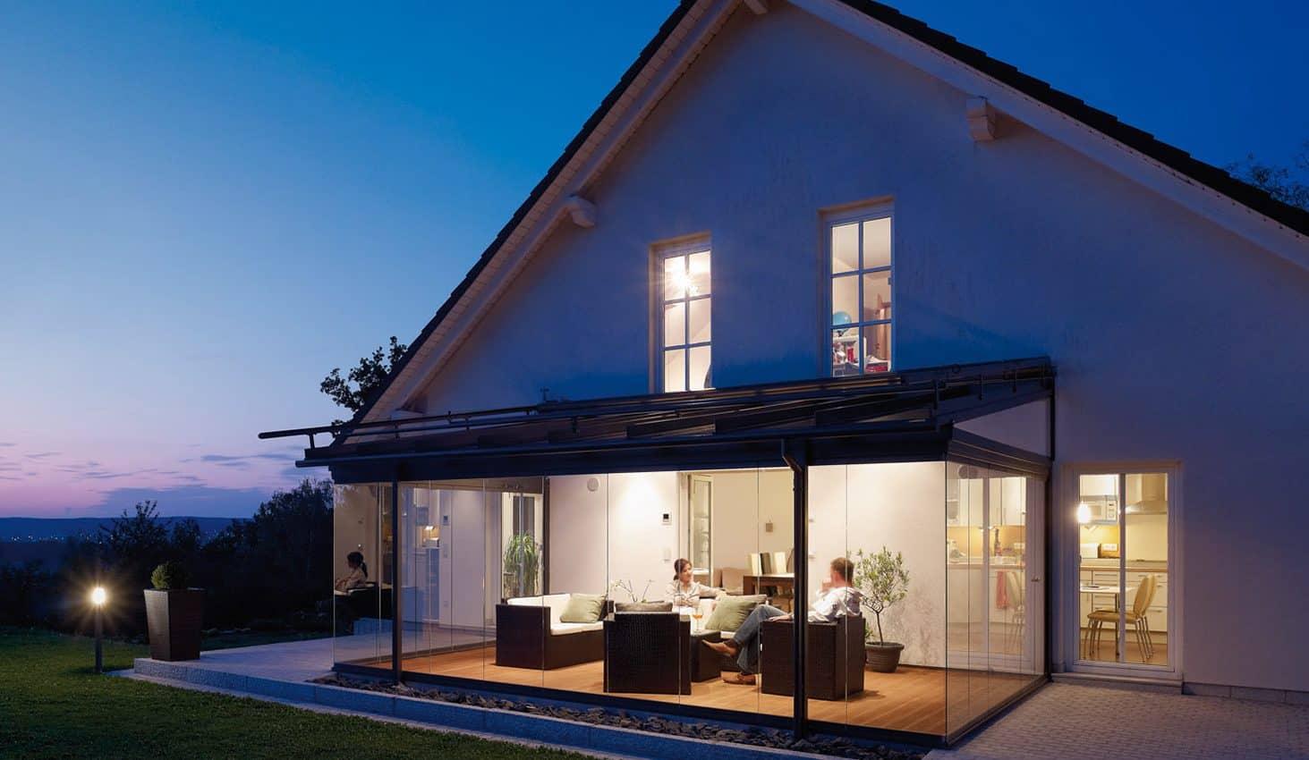Glashaus Familie Sperl   Farbe: DB 703